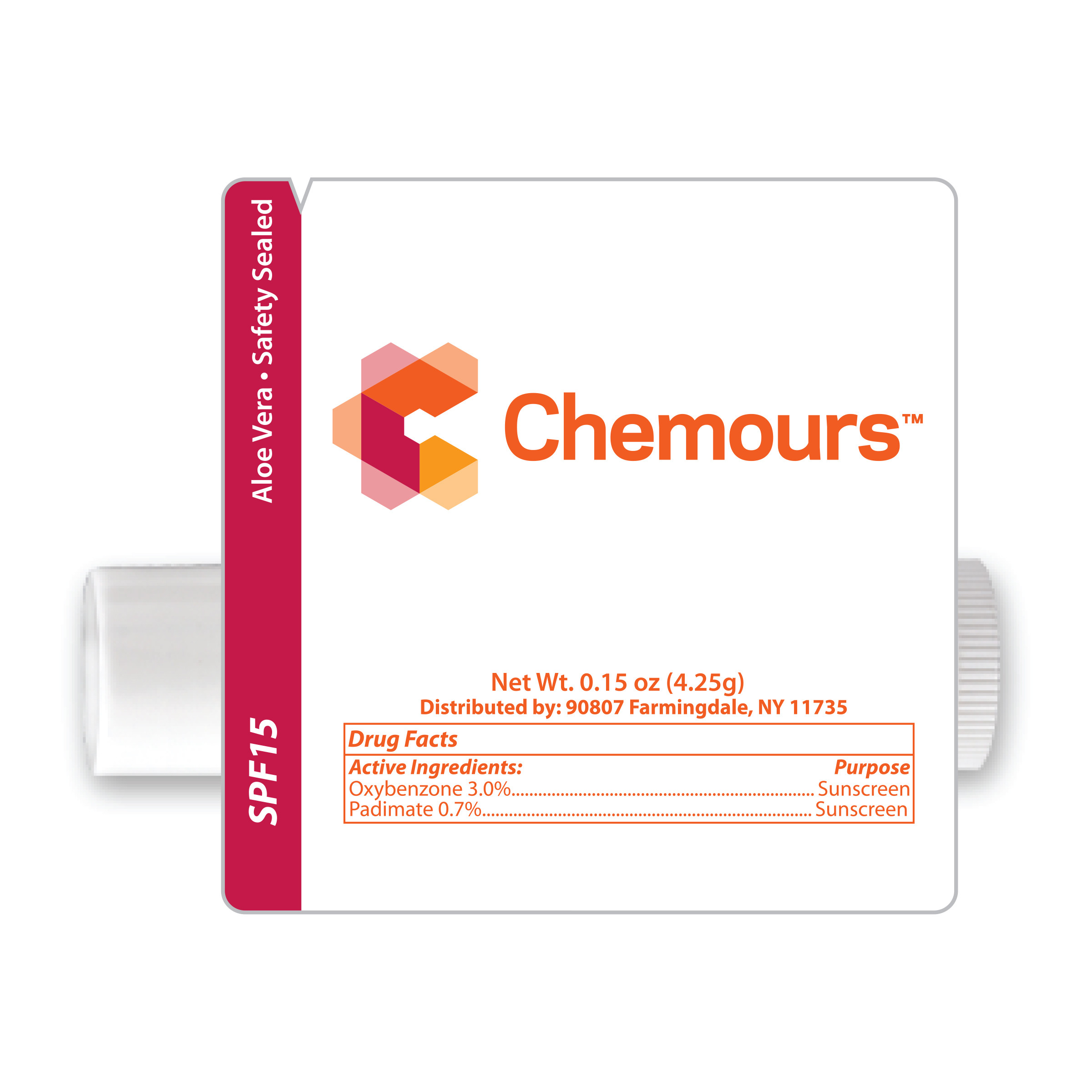 Peppermint Lip Balm | Chemours Promo Shop